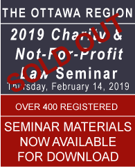 2019 Ottawa Seminar - Download Seminar Materials